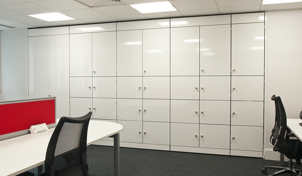 1 Office Storage Wall - Ref FG2