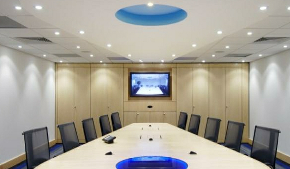11 Boardroom Storage Wall - Ref SPS5