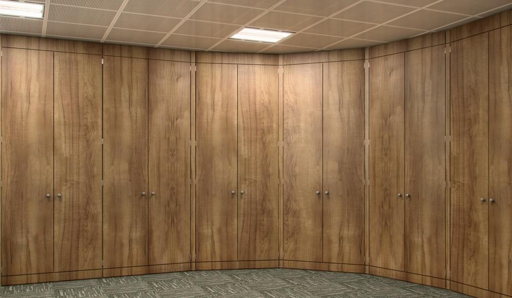 13 Bespoke Storage Wall - Ref FG2