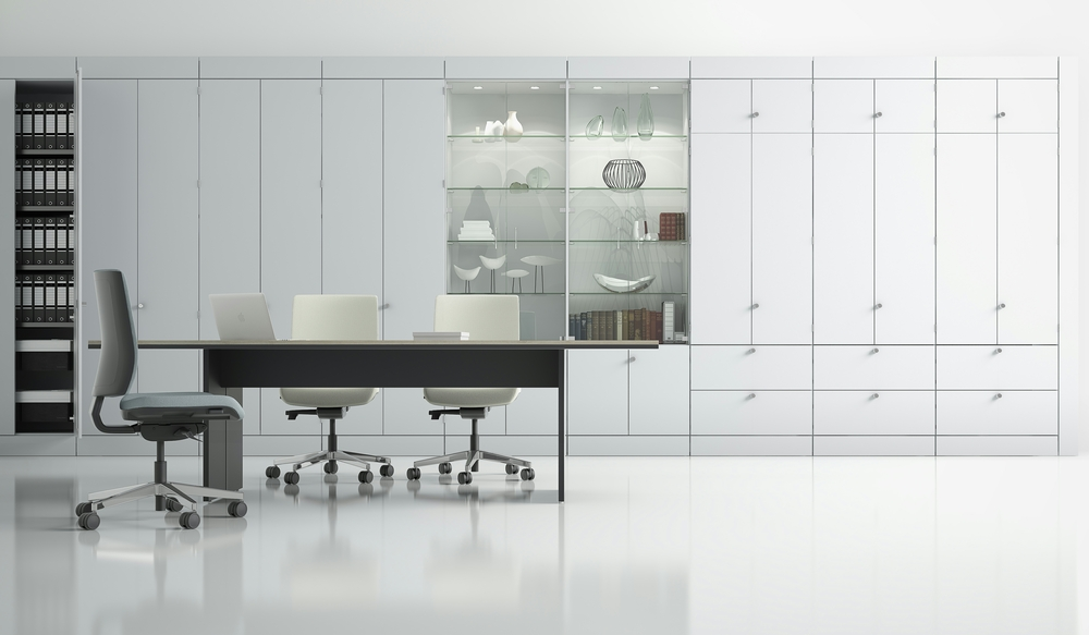 4 Office Storage Wall - Ref TF1