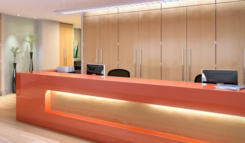 5 Reception Storage Wall – Ref FG1