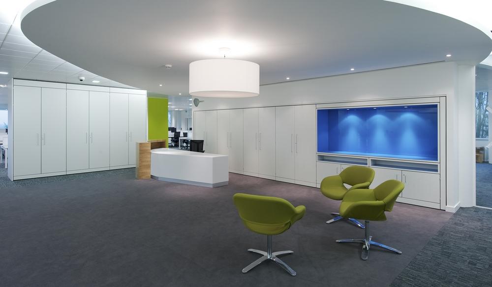 6 Reception Storage Wall – Ref SPS2