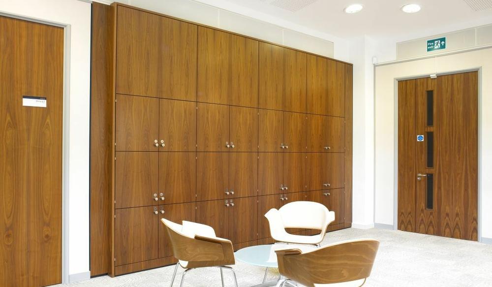 7 Reception Storage Wall – Ref SPS3