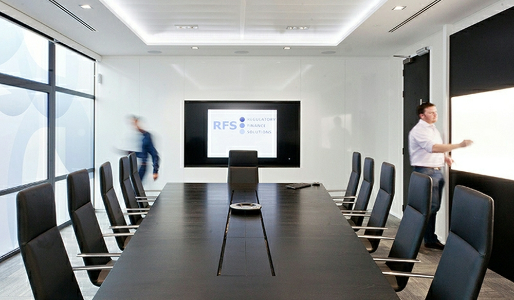 9 Boardroom Storage Wall - Ref CR1