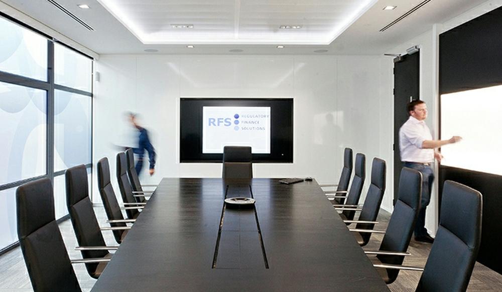 9 Boardroom Storage Wall – Ref CR1