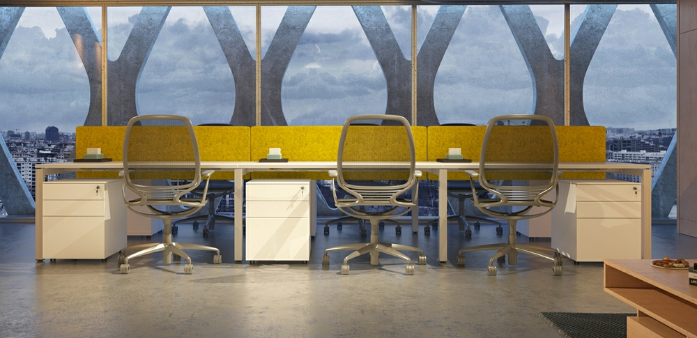 AOS Desk Mounted Screens – QB 1