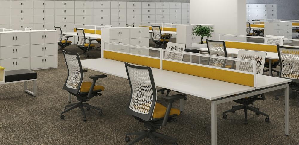 AOS Desk Mounted Screens – QB 2